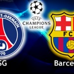 CHAMPIONS LEAGUE PARIS BARCA