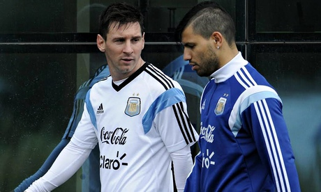 ARGENTINA'S NATIONAL TEAM TRAINING SESSION